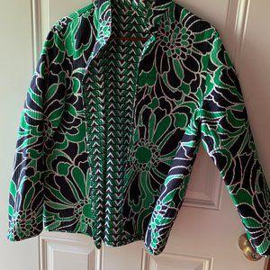 Beautiful Reversible Jacket Size 1X